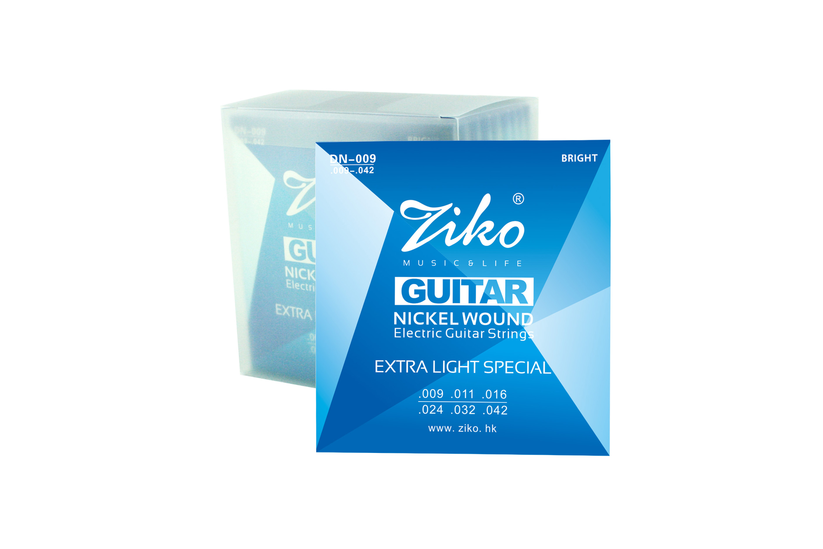 Ziko Electric guitar string DN-009/010