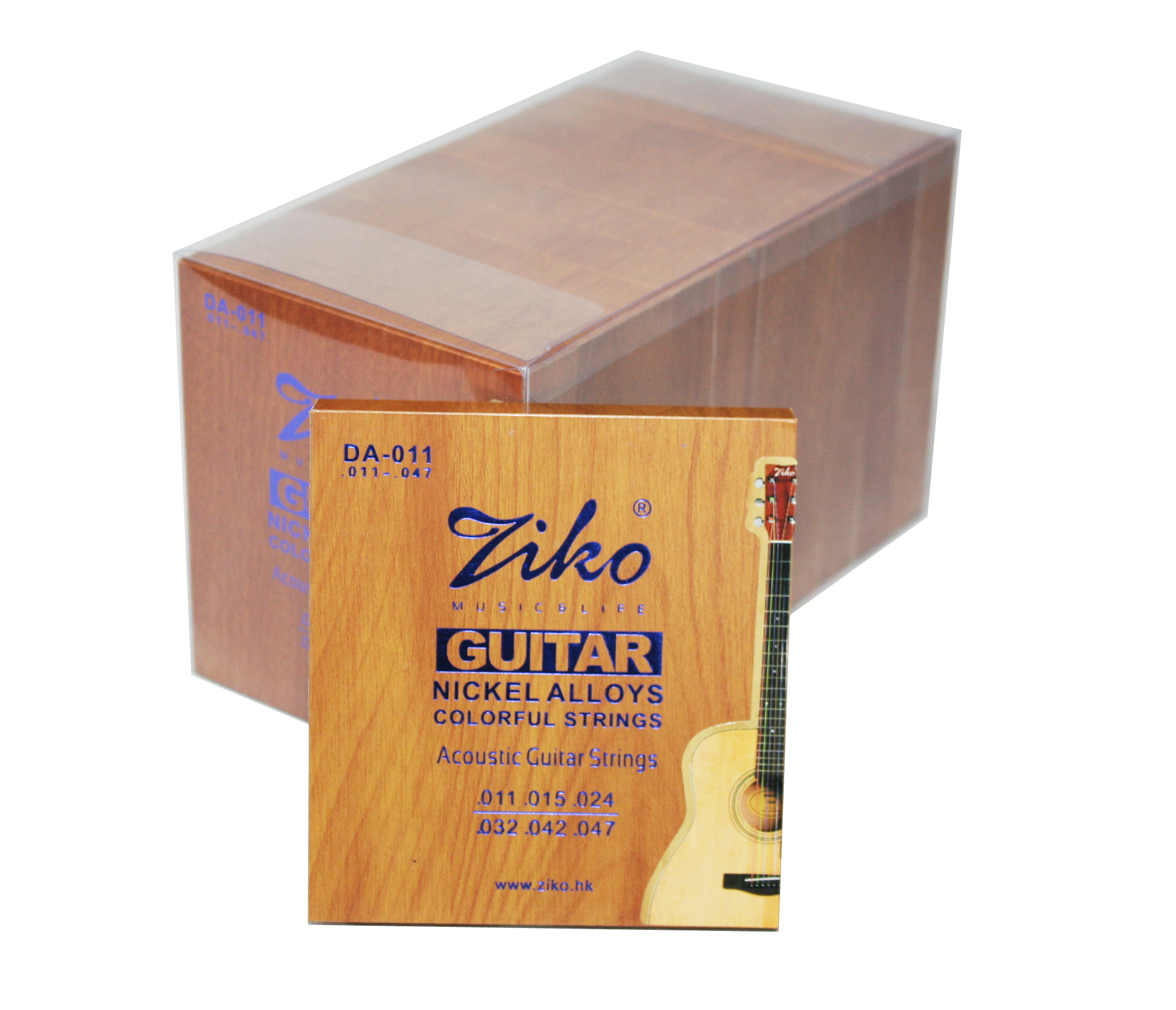 ziko color acoustic guitar strings DA-011/012