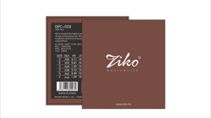 Ziko coating classical guitar strings DPC-028